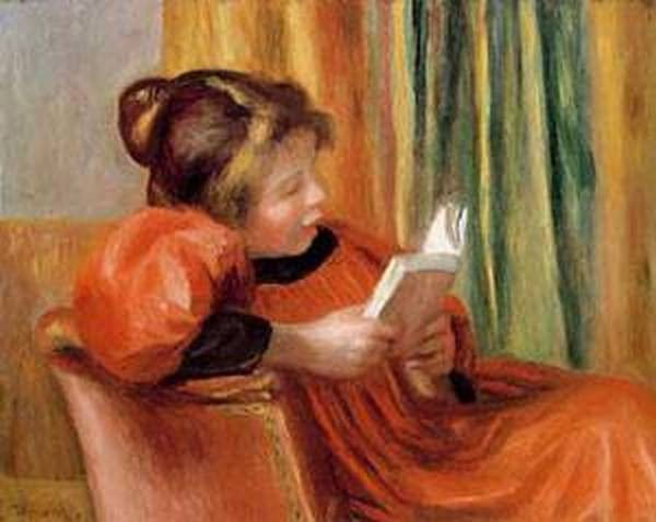 A girl reading 1890 xx museum of fine arts houston
